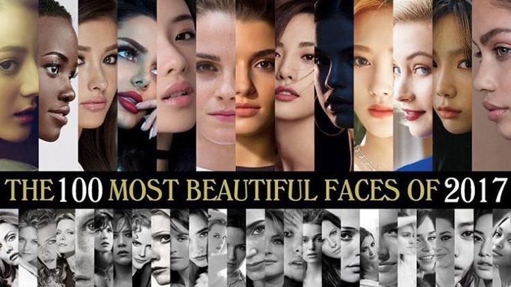 世界で最も美しい顔100人