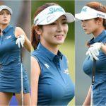 韓国の女子ゴルファーのエロすぎるボディ